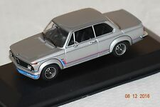 BMW 2002 Turbo 1973 ARGENTO 1:43 MAXI Champs Minichamps Nuovo & Ovp 940022200