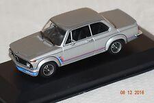 BMW 2002 Turbo 1973 silber 1:43 MaXichamps Minichamps neu & OVP 940022200