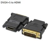 DVI 24+5 zu HDMI Adapter Konverter DVI-Stecker auf Buchse