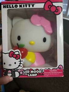 Hello Kitty 7 Inch Color Change LED Mood Lamp, opened box