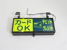 RARE Japanese Taxi Sign Light Retro Showa Era Cab Free Shipping Japan 32