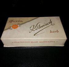 Seifen Schachtel Kölnisch 16 x 3 x 8,5 cm leer vintage