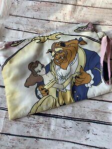 Beauty & The Beast Disney Handmade Upcyled Handbag Clutch Bag Pouch