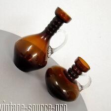 Paar edle Murano Glas Design Tisch Vasen Blumenvasen Amphoren Vintage 60er Jahre