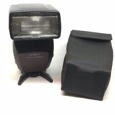 【 MINT 】Konica Minolta SLR Camera 5400xi Shoe Mount Flash w/Case Tested OFFER 7
