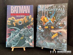 DC Batman Knightfall Parts 1 And 2 TPB (1993)