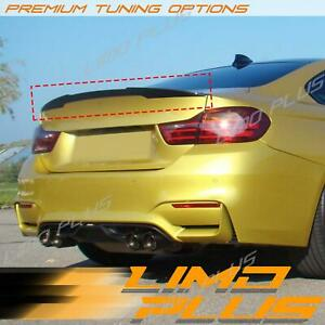 Glossy Black Trunk Spoiler M4 Style For BMW 4-Series F32 Coupe 2014-2020 sp69