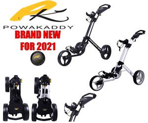 Powakaddy Twinline 4 Golf Push Trolley **BRAND NEW FOR 2021**