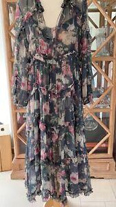 Zimmermann Kleid Seide Gr. 1