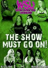 WSU Womens Wrestling - The Show Must Go On DVD Becky Bayless Angelina Love TNA