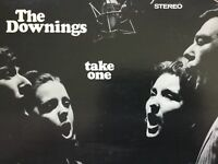 THE DOWNINGS Take One debut 1st 1969 private label vinyl LP NM+bonus CD