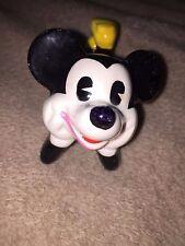 Vintage Walt Disney Productions Mickey laying down Ceramic Figurines