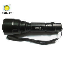 new UltraFire 2500LM CREE C8 XMLT6 LED Tactical Flashlight Torch linternas lamp