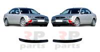 Pour Ford Mondeo MK3 2000 - 2004 Neuf Avant Pare-Choc Moulure Bordure Paire Set
