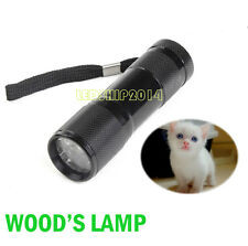Professional Pet Dog Cat Skin Care Ringworm Eczema Wood Lamp UV Light Detector