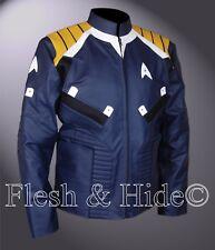 Dark Blue Chris Pine Star Trek Beyond Captain Kirk Jacket