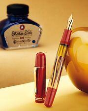 Pelikan M101N Tortoise Red Fountain Pen Medium BRAND NEW 2014