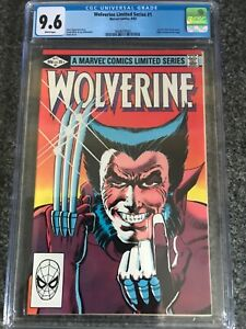 Wolverine #1 (Limited Series, 1982, Marvel) CGC, Graded 9.6 (NM+), White Pages