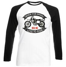 BSA Rocket B50 MX-Nuovo T-shirt Cotone-Tutte le taglie in magazzino