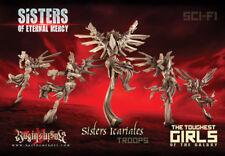 Raging Heroes - Sisters of Eternal Mercy - Icariates - Command Group - NEW
