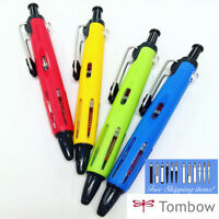 """Tombow AirPress"""" New color 4 Pens Set Pressurized Ballpoint Pen 0.7mm Outdoor"""