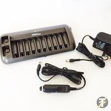 Ldmbc1 interceptar ni-cad/ni-mh Batería Cargador Y Descargador-Hasta 12 Pilas