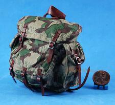 FIGURE 1:6 WW2 GERMAN Mountain Division Handschar Commander Backpack Bag FH_6G