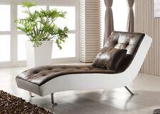 Leder-Look Relax-Liege-Recamiere-Lounge-Relaxliege Chaiselongue 516-M-PU sofort