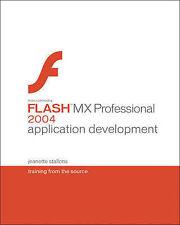 Macromedia Flash MX Professional 2004 Application Development: Training from the