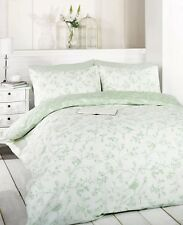 Rapport Birds Toile Reversible Green Double duvet set cheapest on ebay.