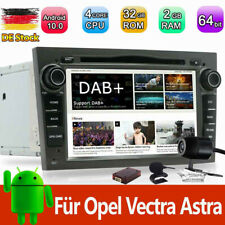 DAB+ Android 10.0 Autoradio DVD CD Navi für Opel Vectra Zafira B Astra H Corsa