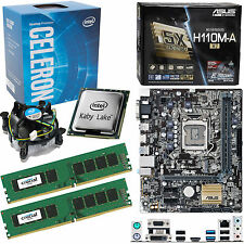 Intel Celeron G3930 2.9Ghz, Asus H110M-A/M.2 & 8GB 2133Mhz DDR4 RAM