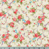 Shabby Rose Cream Cassandra Robert Kaufman Cotton Quilting Fabric