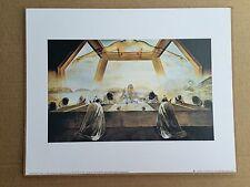 Abendmahl von Salvador Dali 25x30 Heilige BILD mit MDF  Jesusbild Abendmahl