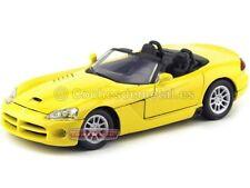 2003 Dodge Viper SRT-10 Convertible Amarillo 1:18 Motor Max 73137