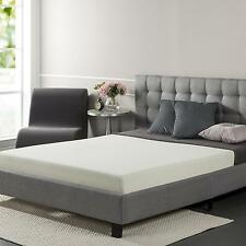 "Queen 6"" memory foam mattress mold body shape support comfort BioFoam plant oil"