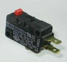 16Amp SPDT Microswitch ╍  D3V-16-1C25-H  125°C  Pin Plunger ╍ From Stock  ≤1day