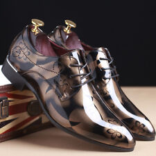 Men's Business Formal Dress Oxfords Leather Shoes Casual Wedding Pointed Toe