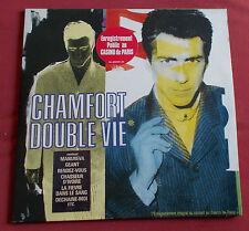 ALAIN CHAMFORT 2 LP  LIVE DOUBLE VIE  AU CASINO DE PARIS