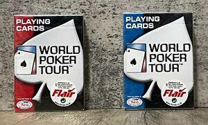 2 x Sealed Decks - USPCC Playing Cards - 2004 World Poker Tour - WPT - Free Post
