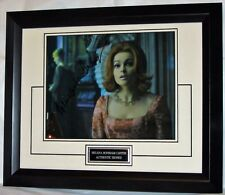 "HBCFDSEBF  Helena Bonham Carter signed ""DARK SHADOWS"" with signing details"