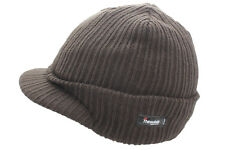 3b97b29af3d Thinsulate Peaked Winter Knitted Beanie Hat One Size 4 Colours