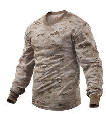 Desert Digital Camo Long Sleeve T-Shirt by Rothco 5743 - LARGE REGULAR