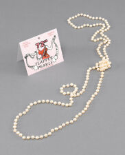 """BRAND NEW COSTUME - Best Quality - Flapper Beads. 72"""" Pearls"""