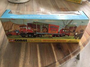 Corgi major toys no 1139 chipperfields circus original box very good 1960s