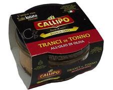 Tranci di Tonno all'olio d'oliva 160 g. (Riserva Oro) - TONNO CALLIPO Calabresi