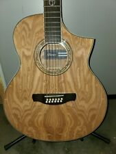Ibanez Exotic Wood Series EW2012ASENT 12-String Acoustic-Electric Guitar Gloss