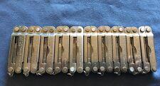 Lot of 10 Leatherman Micra Keychain Multi-Tools USA Made!