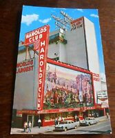 Vintage Postcard Harolds Club Reno Casino Nevada
