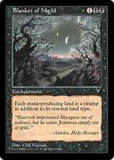 BLANKET OF NIGHT Visions MTG Black Enchantment Unc